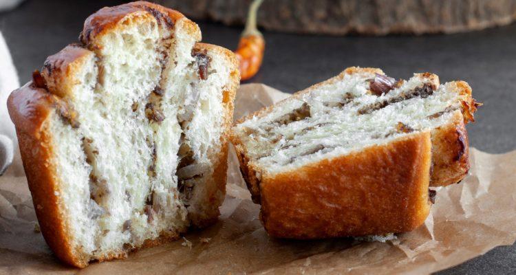 RICETTA: Girelle salate con patè di olive all'arancia