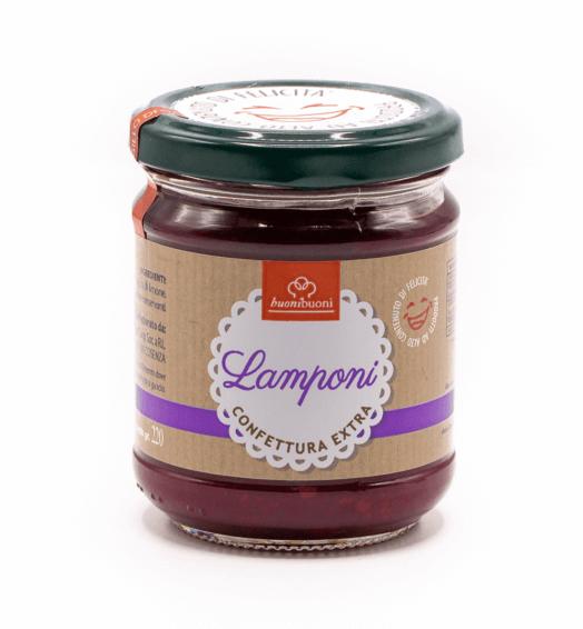 Confettura extra di lamponi (220 g)