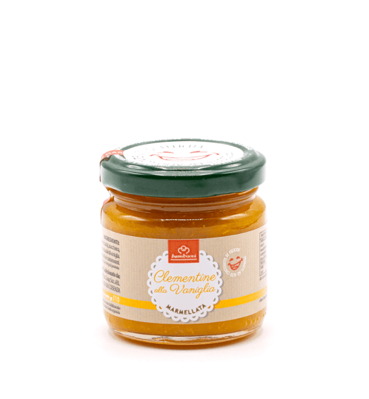 Marmellata di clementine alla vaniglia (110 g)