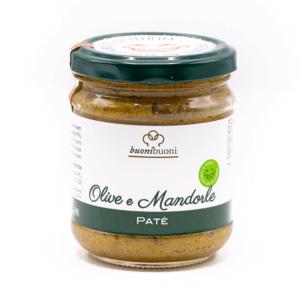 Patè olive e mandorle (190 g)