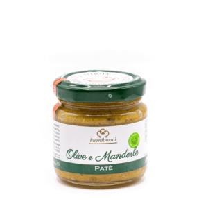 Patè olive e mandorle (90 g)