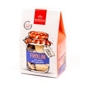 buonibuoni - Frollini con gocce di cioccolato